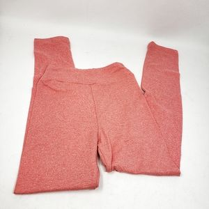 LuLaRoe | Peach Full Length Girls Leggings L/XL